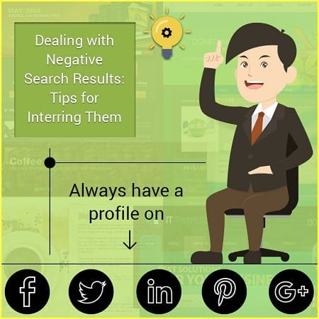 Dealing with Negative Search Results: Tips for Interring Them