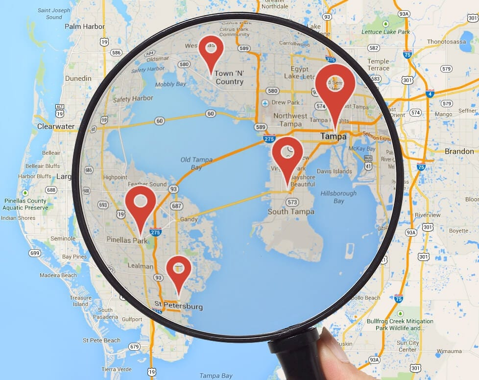 Local SEO Service in Tampa and Clearwater FLorida