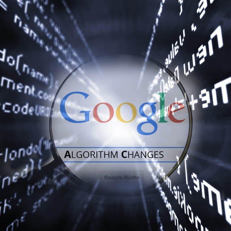 Google Confirms Suspected Algorithm Changes
