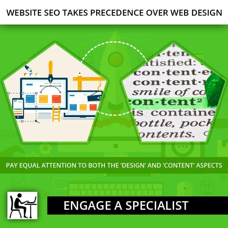 Website SEO Takes Precedence over Web Design