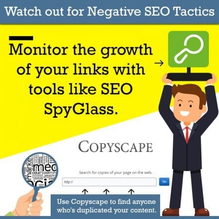 Watch Out for Negative SEO