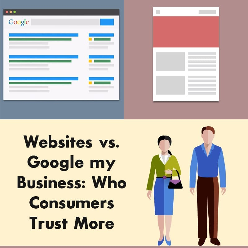 Websites Vs Google My Business Who Consumers Trust More