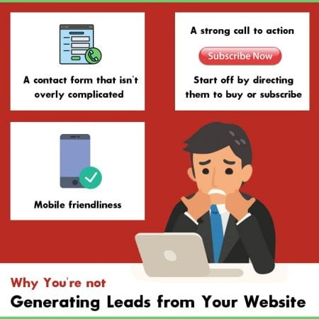 Why You're Not Generating Leads From Your Website