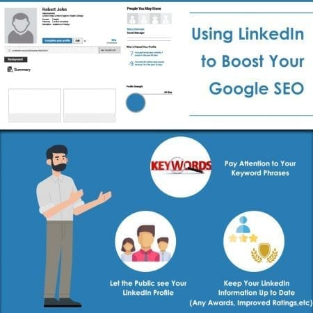Using LinkedIn to Boost Your Google SEO