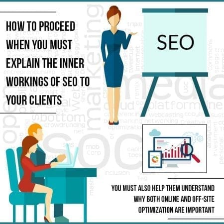 How To Proceed When You Must Explain The Inner Workings Of Seo To Your Clients