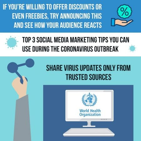 Top 3 Social Media Marketing Tips You Can Use During The Coronavirus Outbreak
